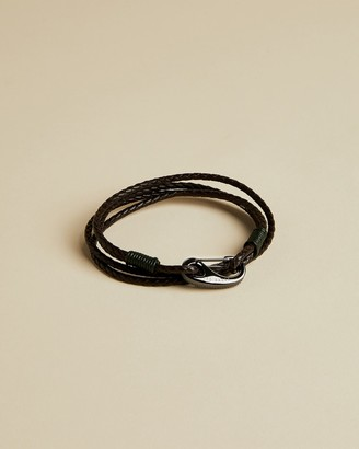 Ted Baker BILBORD Woven leather bracelet