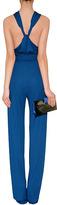 Emilio Pucci Jersey Jumpsuit in Ocean Blue
