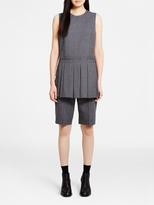 DKNY Shirt With Pleated Panel