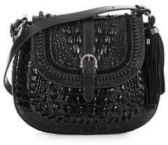 Brahmin Addilyn Leather Saddle Crossbody Bag