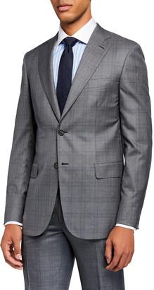 Brioni Men's Prince of Wales Two-Piece Suit