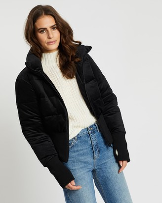 Unreal Fur Women's Black Parkas - Amsterdam Puffer Jacket - Size One Size, XS at The Iconic