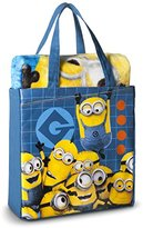 Nickelodeon Despicable Me Minion Throw Blanket and Tote Bag 2 pieces Set