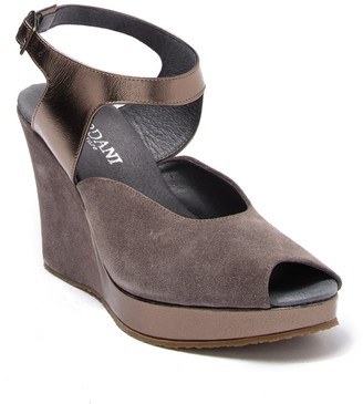 Cordani Wyoming Peep Toe Platform Wedge Sandal