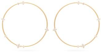 Fernando Jorge Solo Large Diamond & 18kt Gold Earrings - Gold