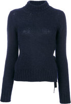 Dondup Turtleneck Sweater With Bow