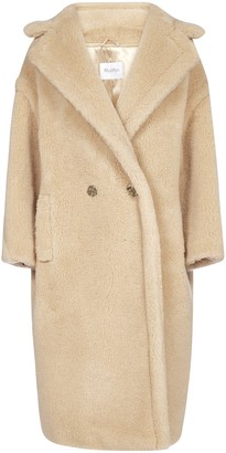 Max Mara Iconic Single-Breasted Teddy Coat