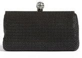 Whiting & Davis 'Crystal' Mesh Clutch - Black