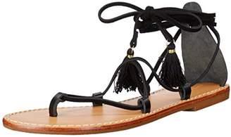Soludos Women's Gladiator Lace Up Sandal Flat