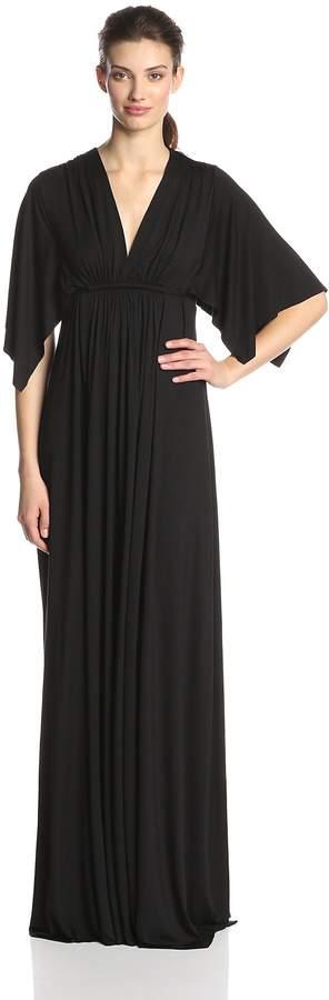 Rachel Pally Women's Flutter Sleeve Long Caftan Dress