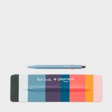 Paul Smith Caran d'Ache + 849 Petrol Blue Ballpoint Pen