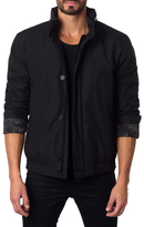 Jared Lang Hooded Stand Collar Jacket