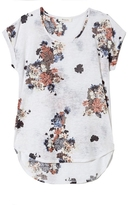 Two by Vince Camuto Bouquet-print T-shirt