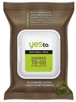 Yes to® Men's Cleansing Wipes - 25 ct