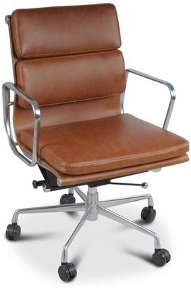 Apt2B Hollman Low Back Office Chair TAWNY
