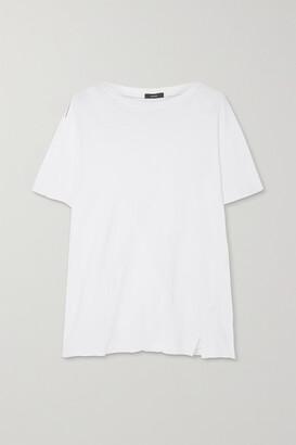 Bassike Organic Stretch-cotton Jersey T-shirt - White