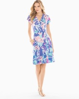Soma Intimates Flutter Sleeve Wrap Dress