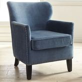 Pier 1 Imports Lyndon Ink Blue Armchair