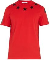 Givenchy Star-appliqué cotton T-shirt