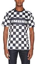 House of Holland Men's Umbro Checkerboard Football Top Casual Shirt
