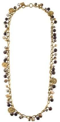 Ashley Pittman Kito Beaded Charm Necklace