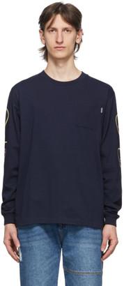 Billionaire Boys Club Navy Heart and Mind Long Sleeve T-Shirt