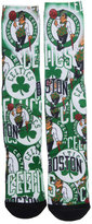For Bare Feet Boston Celtics Montage Socks