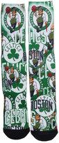 For Bare Feet Boston Celtics Montage Socks