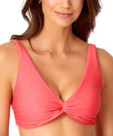 Anne Cole Women's Bikini Tops MEL - Melon Twist-Front Bikini Top - Women