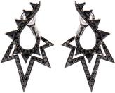 Stephen Webster Diamond, spinel & gold Lady Stardust earrings