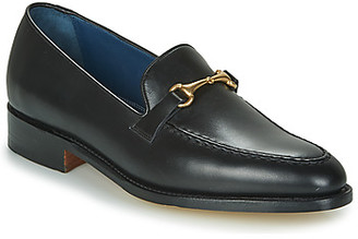Barker FRANK men's Loafers / Casual Shoes in Black