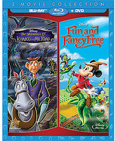 Disney The Adventures of Ichabod and Mr. Toad + Fun and Fancy Free 2-Movie Blu-ray Collection