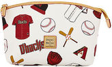 Dooney & Bourke MLB Diamondbacks Cosmetic Case