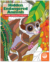 Hidden: Endangered Animals Coloring Book