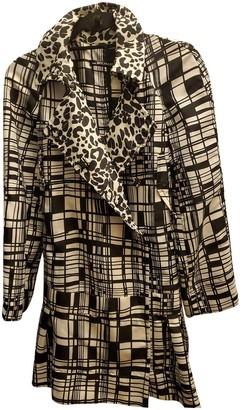 Anna Molinari Black Polyester Jackets