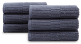 Oxford Ribbed Hand Towels (Set of 6)