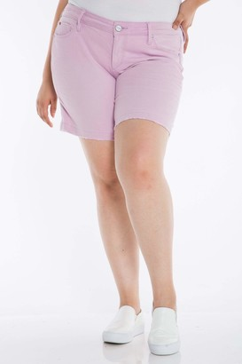 SLINK Jeans Shorts in Orchid Size 20