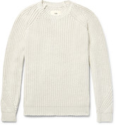 Folk - Ribbed Stretch-cotton Sweater