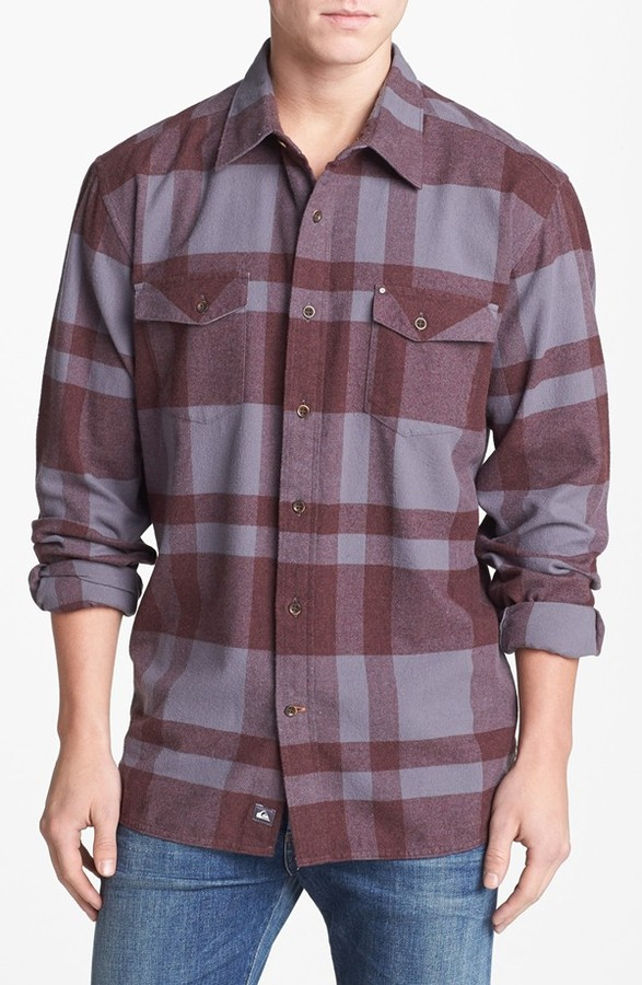 Quiksilver Waterman 'Beacon Point' Sport Shirt