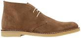 Dune Calabassas Lace-up Desert Boots, Tan
