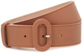 Loro Piana Eyelet leather belt