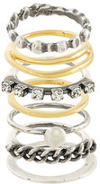 Iosselliani Silver Heritage set of rings