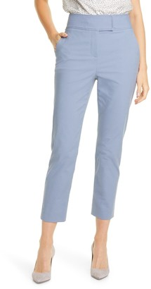 Tailored by Rebecca Taylor Ankle Crop Stretch Suit Pants