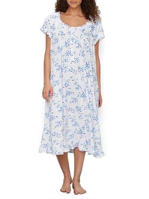 Eileen West Dreamy Rose Knit Nightgown