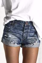 One Teaspoon Blue Cult Hawks Shorts