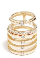 GUESS Sofia Gold-Tone Ring Set
