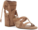 Lucky Brand Idalina Lace-Up Block-Heel Sandals