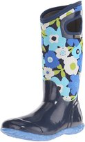Bogs Women's North Hampton Flowers All Weather Rain Boot, Navy Multi