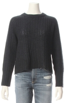 360 CASHMERE Inka Open Knit Pullover Sweater