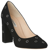 LK Bennett L.K.Bennett Marta Round Toe Court Shoes, Black